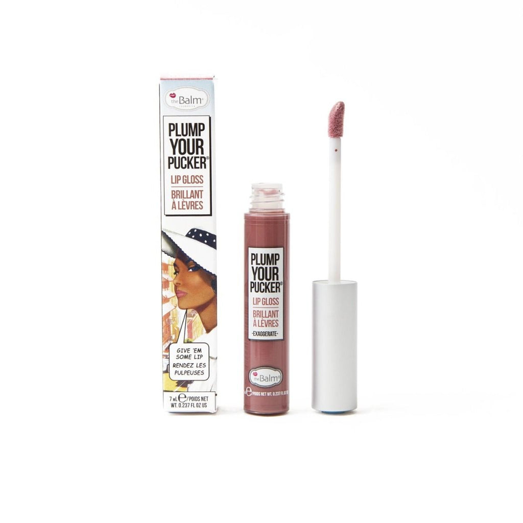 theBalm Plump Your Pucker Lip Gloss Exaggerate