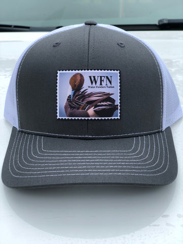 Charcoal Grey Pintail Patch Hat