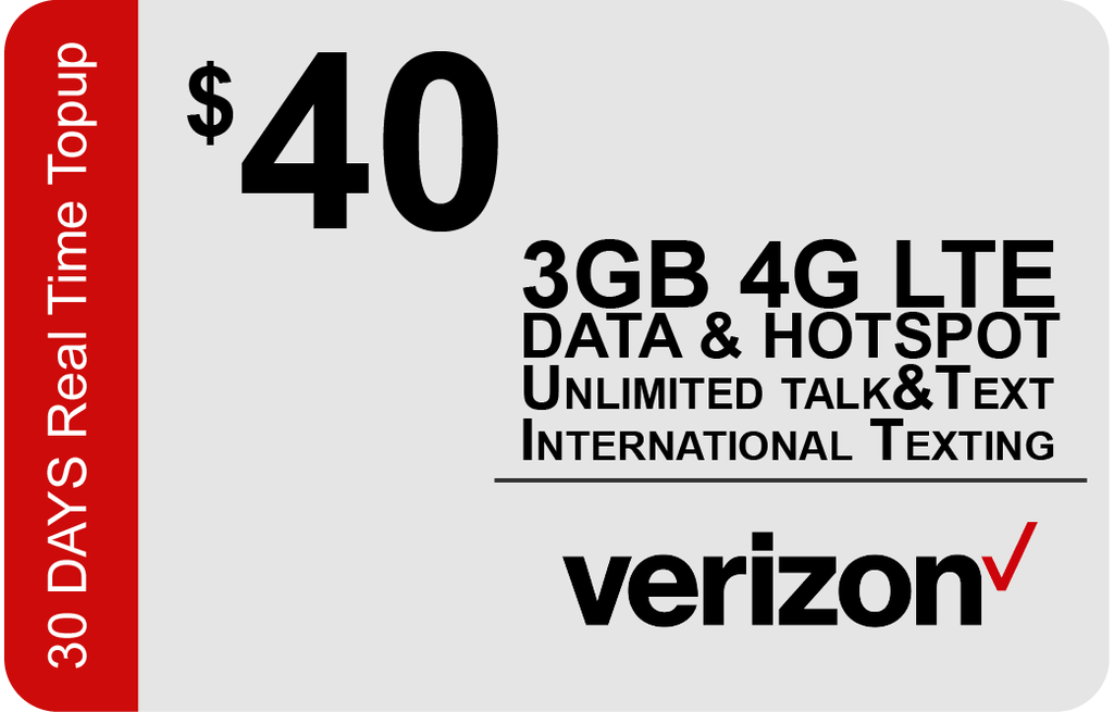 Verizon $35 Unlimited Plan