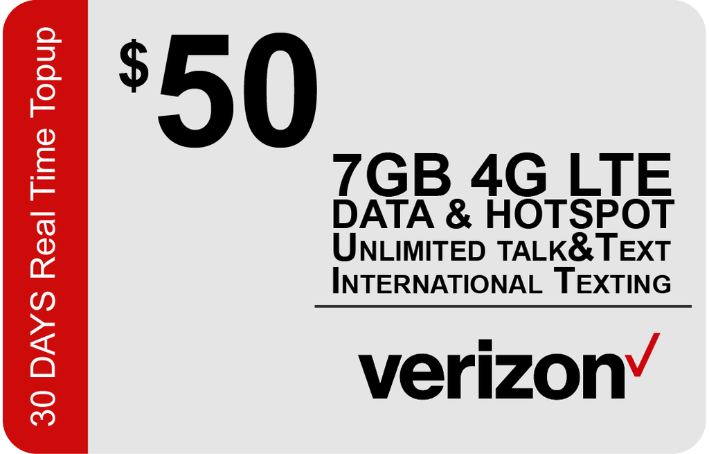 Verizon $45 Unlimited Plan
