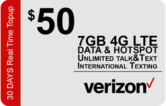 Verizon $40 Unlimited Plan