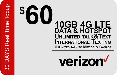Verizon $65 Unlimited Plan