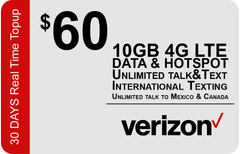 Verizon $50 Unlimited Plan