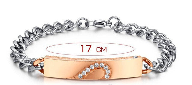 Heart Bracelet for Couples