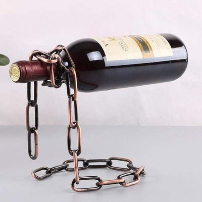 HAGA Shop Bronze chain Chain Bottle Holder