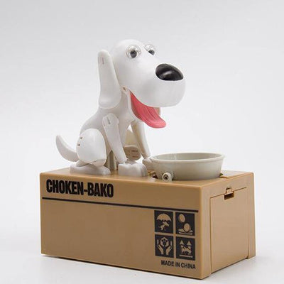 HAGA Shop Featured Products White Dog Money Bank