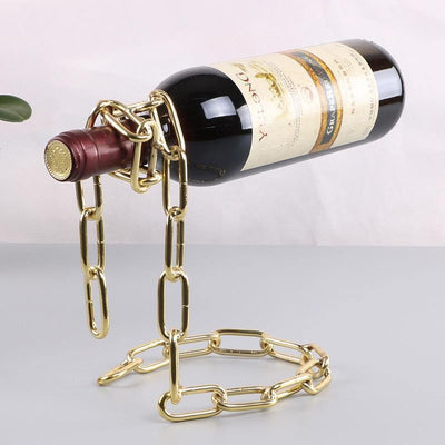 HAGA Shop Gold Chain Bottle Holder
