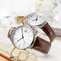 HAGA Shop Lover's Watches Couple Watches Simple Quartz  High Quality Business Clock Unisex Lover Watch