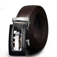HAGA Shop Men's Belts Genuine Leather Belts for Men High Quality Automatic Buckle