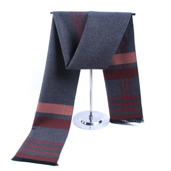 HAGA Shop Men's Scarves Color No 1 New European Style 2017 Men Winter Cashmere Brand Scarf Shawl Scarf Z-5480