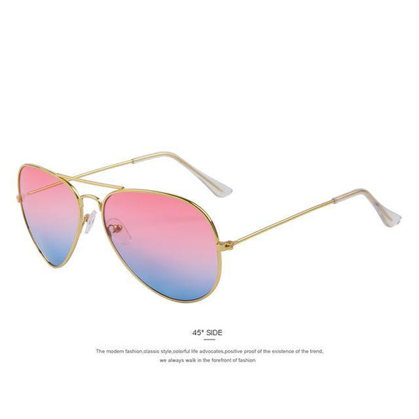 HAGA Shop Men's Sunglasses C01 Pink Blue Fashion Unisex Sunglasses Classic
