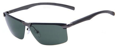 HAGA Shop Men's Sunglasses C06 Gray G15 Men Polarized Night Vision Driving Sunglasses