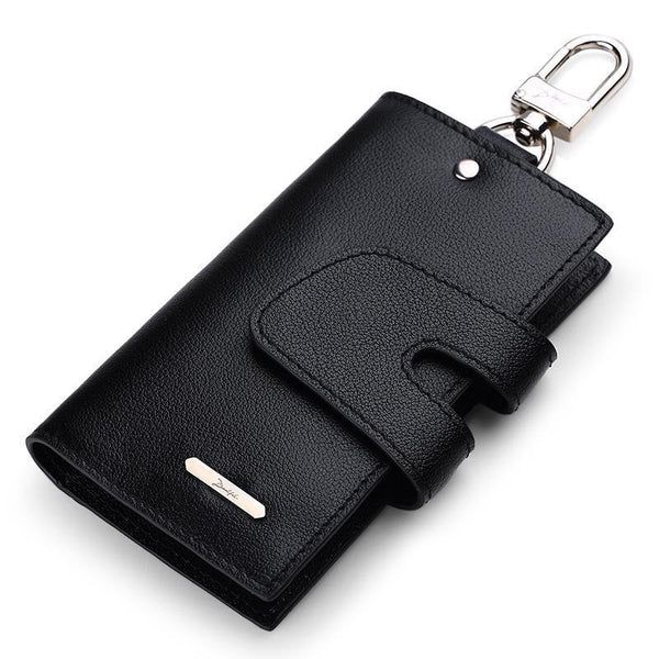 HAGA Shop Men's Wallets New Design Men Genuine Leather Keys Wallet