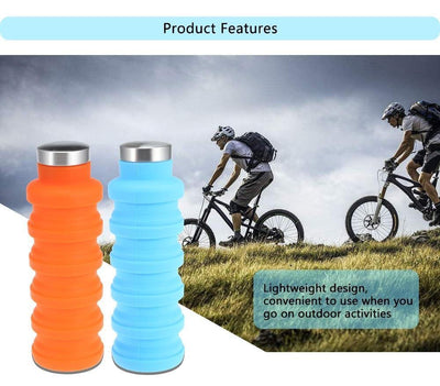 HAGA Shop Mugs , Cups & Bottles Collapsible Water Bottle