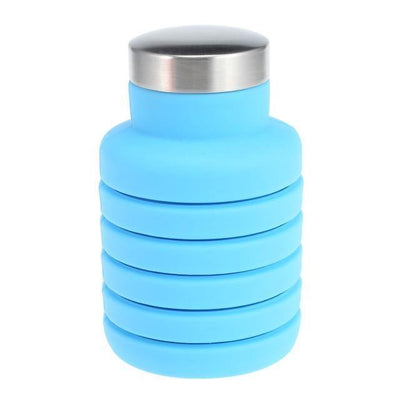 HAGA Shop Mugs , Cups & Bottles Sky Blue Collapsible Water Bottle