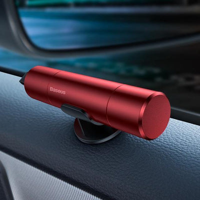 HAGA Shop Red Mini Car Emergency Tools