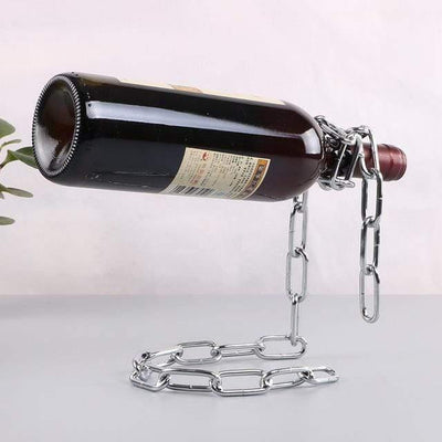 HAGA Shop Silver chain Chain Bottle Holder