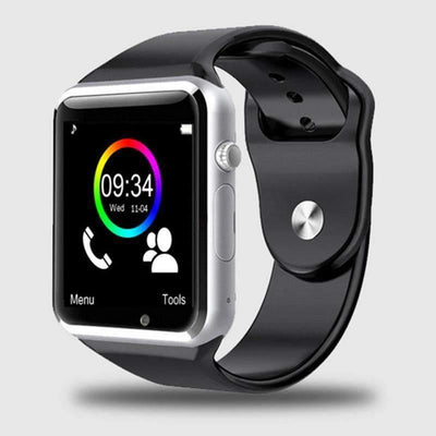 HAGA Shop Smart Watches A1 Wristwatch Bluetooth Smartwatch Sport Pedometer with SIM Camera For Android Smartphone