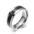 HAGA Shop Vnox fashion men ring carbon fiber jewelry stainless steel rings for man classic christmas gifts