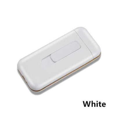 HAGA Shop White / China Cigarette Case Box & Electronic Lighter
