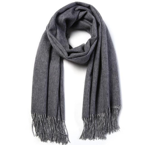 HAGA Shop Women's Scarves 01 / 180cmX70cm Hot Sale Women Wool Winter Shawl Thick Warm Scarves  Luxury Cachecol For Ladies