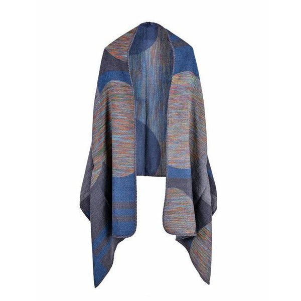HAGA Shop Women's Scarves Color No 1 European Style Women Colorful Cashmere Feel Winter Scarves Long And Capes