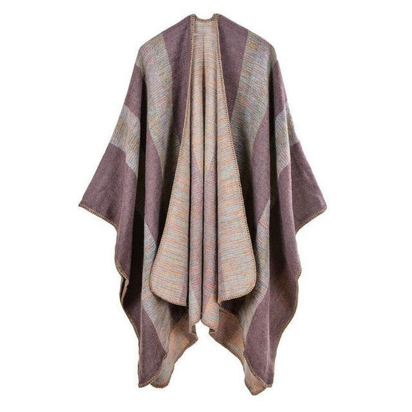 HAGA Shop Women's Scarves Color No 1 New Vintage Women Ethnic Style Cashmere Winter Scarf Long Scarves Ponchos And Capes
