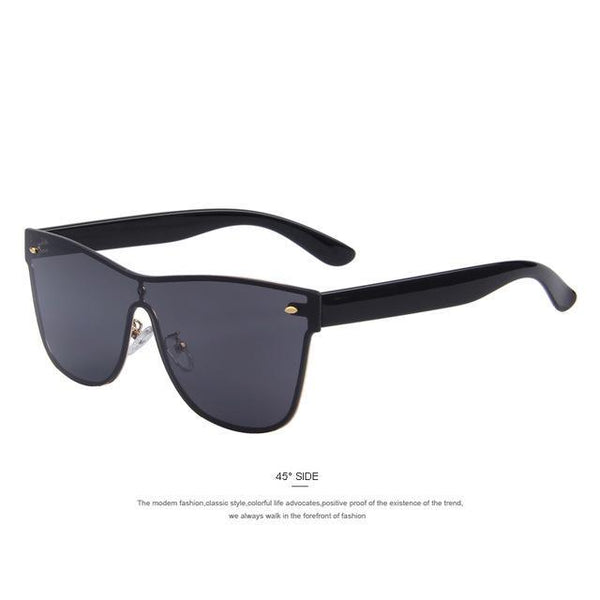 HAGA Shop Women's Sunglasses C01 Black Women Lightweight Sunglasses