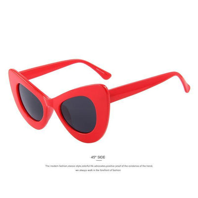 Women Retro Cat Eye Sunglasses