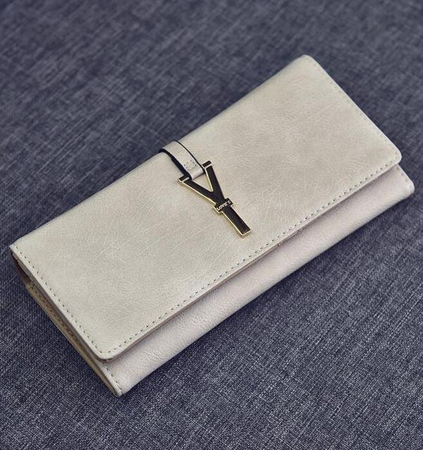 HAGA Shop Women's Wallets Women Wallets 1 Women Leather Long Purse Cards Holders Portefeuille Mujer