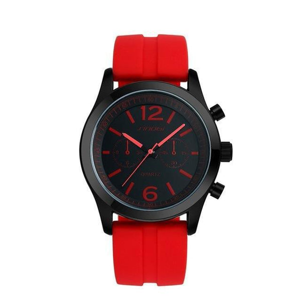HAGA Shop Women's Watches 11S9269G03 / China Fashion Sports Women's Wrist Watches Waterproof Silicone Watchband