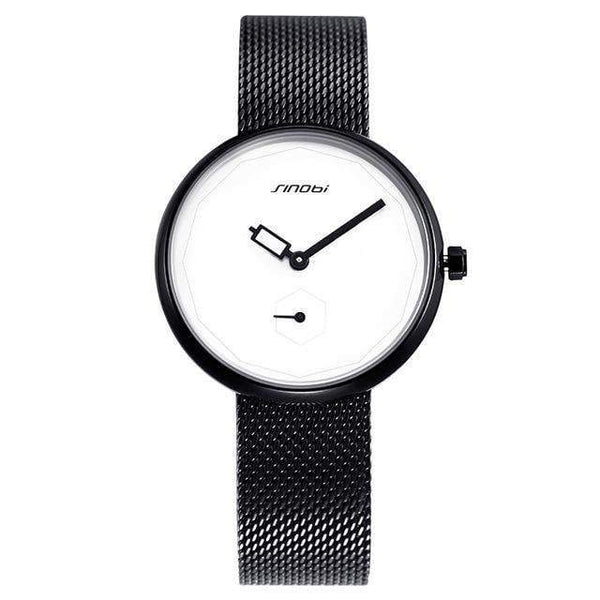 HAGA Shop Women's Watches blackwhite / China Women Watches Luxury Brand Fashion Creative Dial Ladies Quartz Ultra Thin Watch Women Bracelet Watch Reloj Mujer 2017