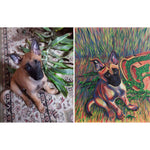Psychedelic Dog Portrait - Online Video Workshop