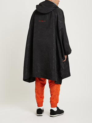 Fin First Poncho - Black