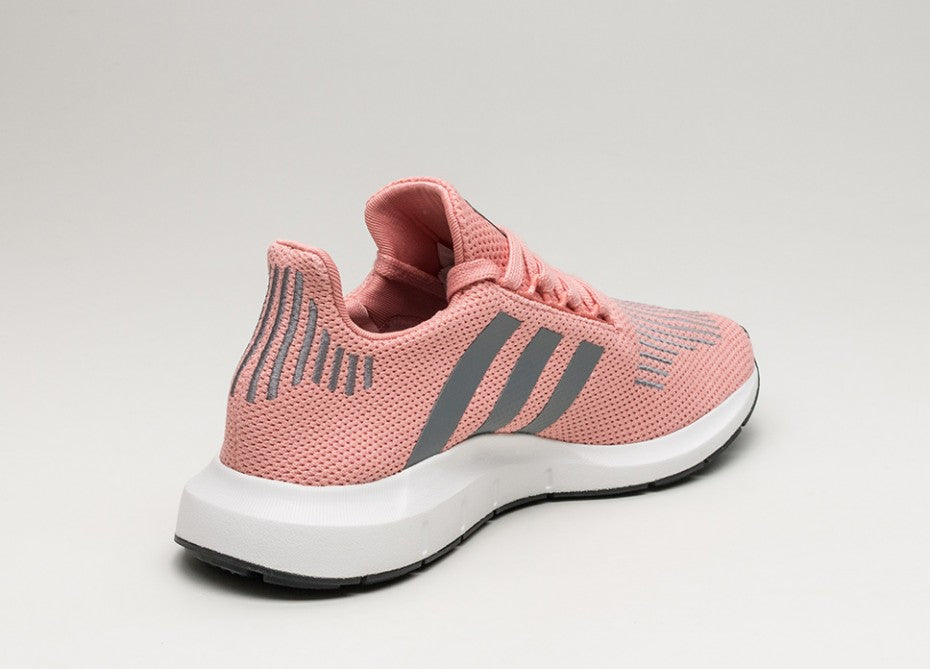 ADIDAS WOMEN'S ORIGINALS PINK SWIFT RUN SHOES