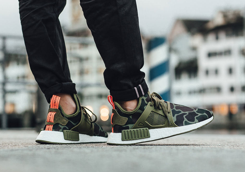 WOMANS ADIDAS NMD DUCK CAMO