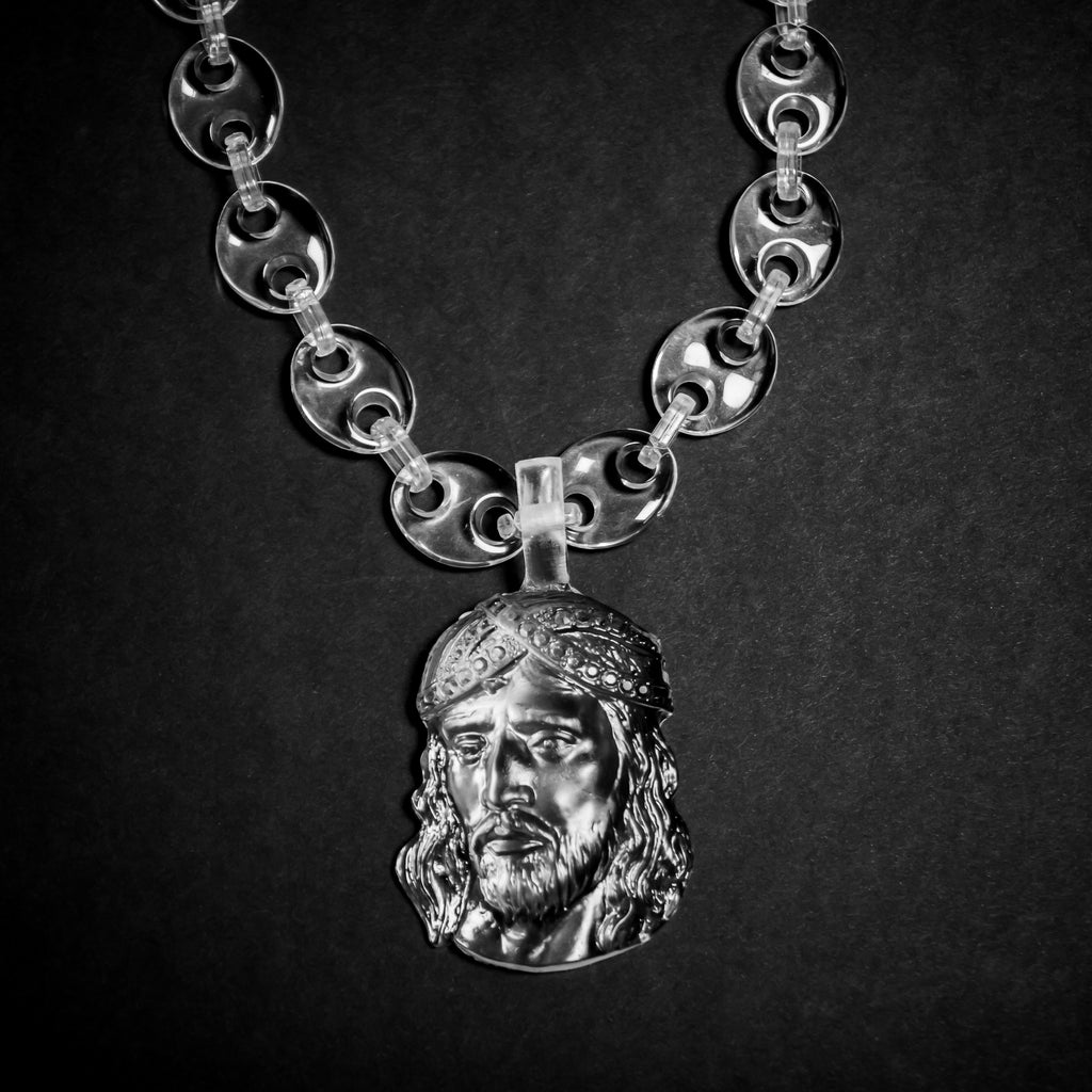 Jesus Piece W/ Gucci Links