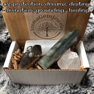 Protection, dreams, destiny, divination grounding, healing