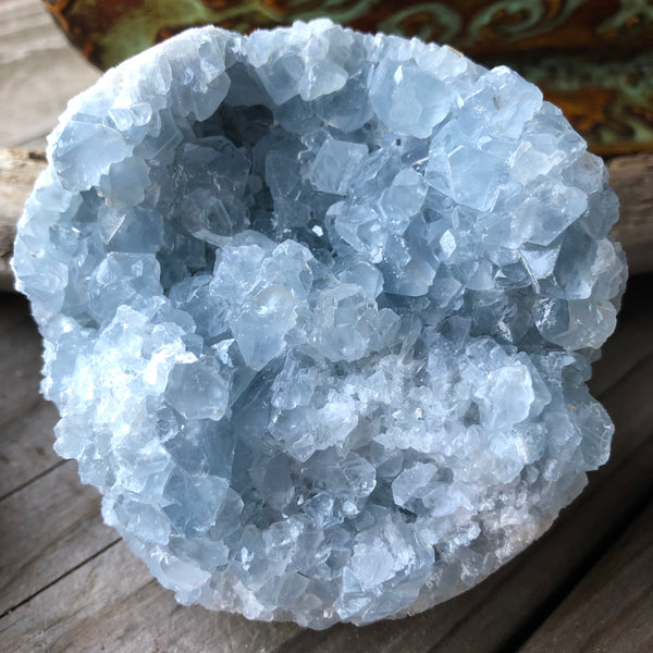 Celestite Crystal 1.42 pounds