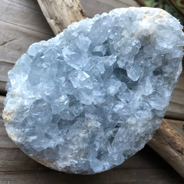 Celestite Crystal 2 pounds 4.4 inches
