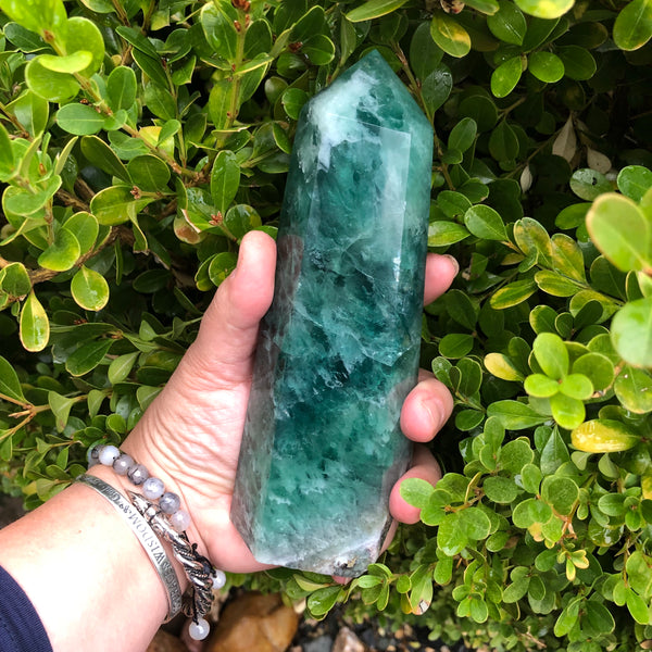 7 inch Flourite Tower