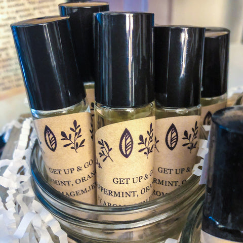 Get UP and Go-Essential oil blend
