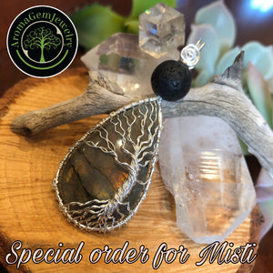 Special Order for Misti -Labradorite Tree of Life
