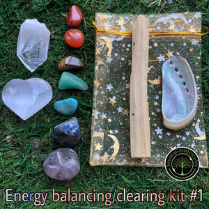Energy clearing/balancing kit #1