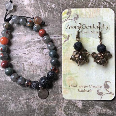 African Bloodstone aromatherapy set