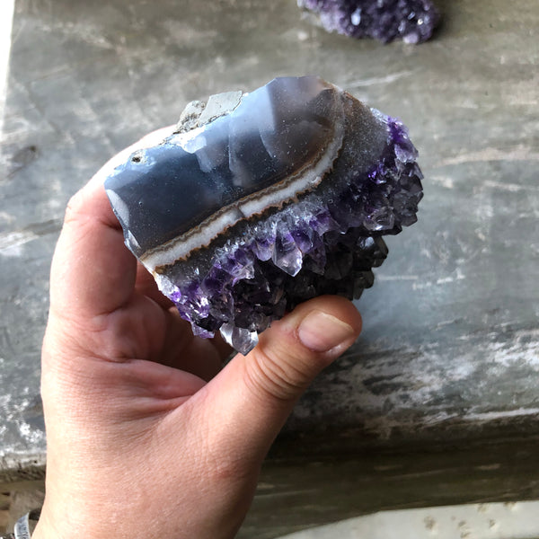 Medium Amethyst Cathedral Cluster Display Specimen