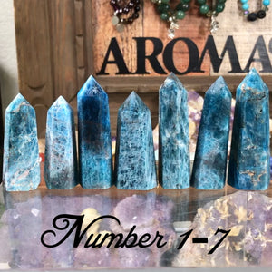 Apatite Towers #1-18 (approx 2-3 inches)