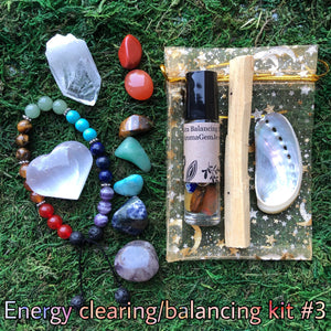 Energy clearing/balancing kit #3