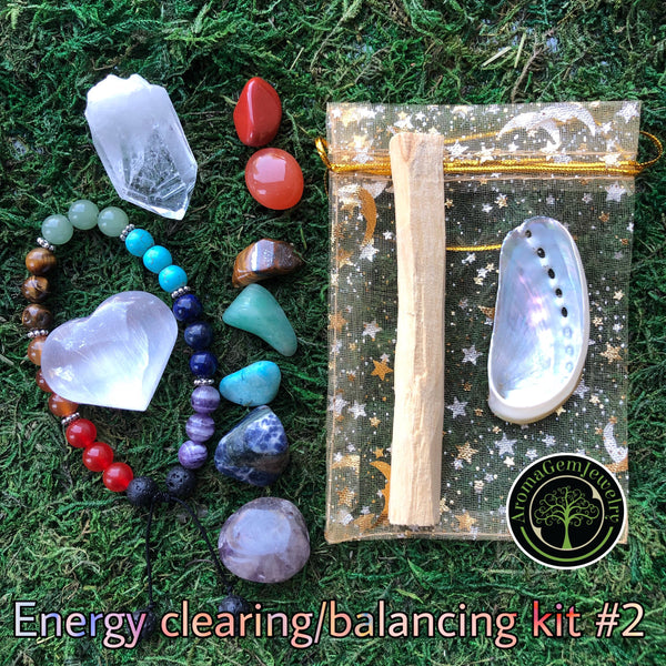 Energy clearing/balancing kit #2