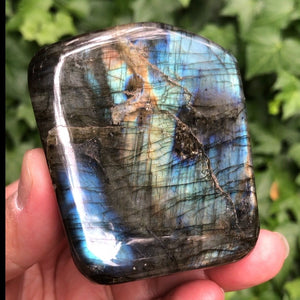 Labradorite -free standing form ( Protection, higher consciousness, transformation)